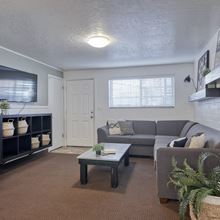 Spacious Sectional Seating